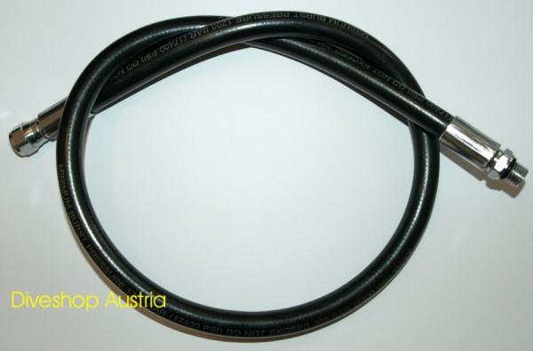 Polaris Gummi Hochdruckschlauch Finimeter Schlauch 90 cm schwarz