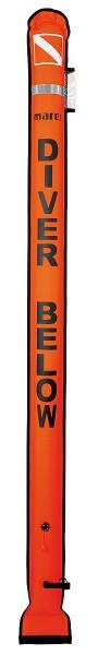 Mares Taucher Tauchboje Alert Marker Buoy Taucher Oberflächen Sicherheitsboje Boje