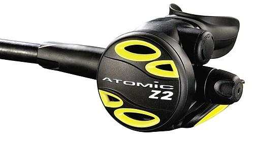 Atomic Aquatic Z2 Oktopus Okto alternative Luftversorgung Taucher Regler zweite Stufe