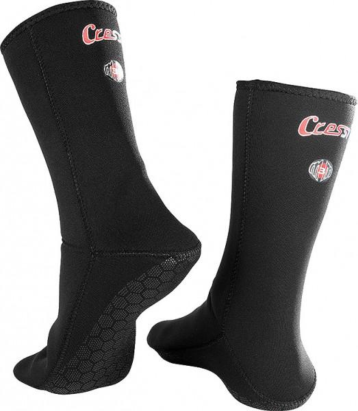 Cressi Neoprensocken Metallite 2,5 mm Stretch Neopren Taucher Socken tauchen elastisch
