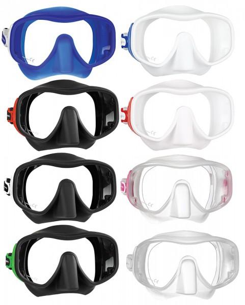 Mares Juno Tauchmaske Taucher Maske Brille tauchen grosse Gesichter