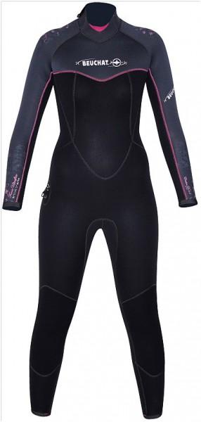 Beuchat Ultra Flex 5mm 5 mm weiches Neopren Frauen Damen Gr. L Tauchanzug Taucher Anzug