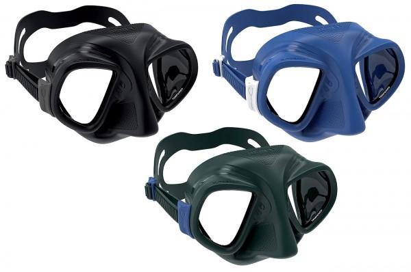 Mares X Tream Apnoe Maske Taucher tauchen Freitaucher Silikon Brille Profi professionelle Tauchbrill