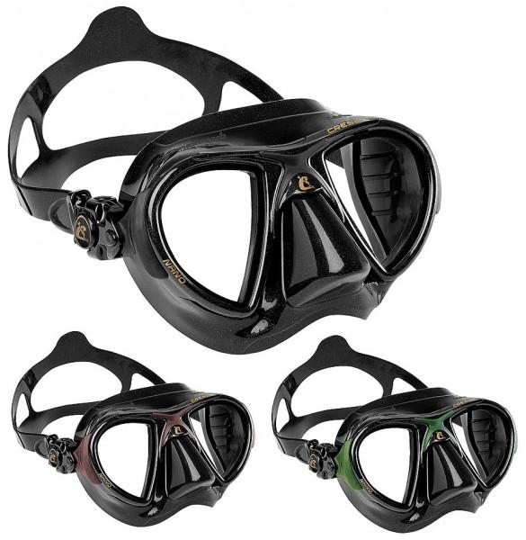 Cressi Nano Apnoe Tauchmaske Taucher Maske Tauchermaske Apnoe Freitaucher freediving mask tauchen