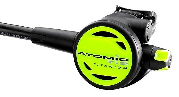 Atomic Aquatics Ti2 Oktopus Okto Titan alternative Luftversorgung zweite 2te Stufe