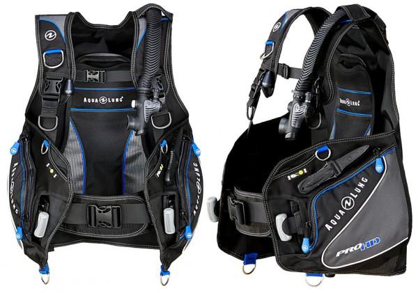 Aqualung Pro HD ADV Tauchjacket Tarierjacket Taucher Jacket integrierte Bleitaschen