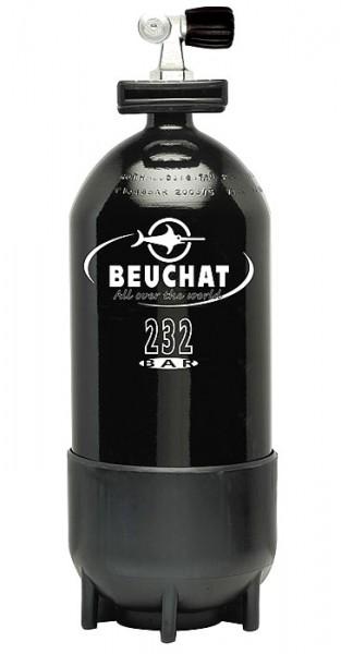 Beuchat 12 Liter Tauchflasche Taucher Flasche Pressluftflasche Stahlflasche Mono Ventil
