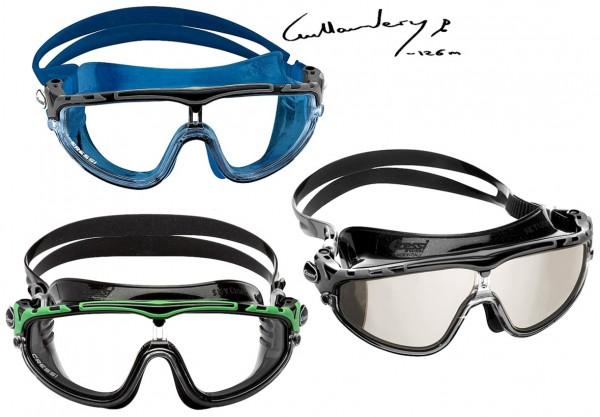 Cressi Skylight Schwimmaske Schwimmbrille Einglas Schwimm Maske Brille