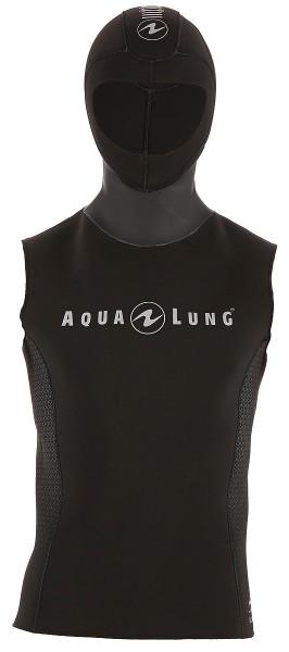 Aqualung Hooded vest Unterzieher mit Kopfhaube 3mm stretch Neopren Herren Männer Taucher tauchen
