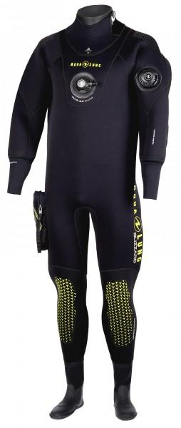 Aqua Lung Blizzard 4mm Komprimierter Neopren Trockentauchanzug Herren Trocken Taucher Anzug