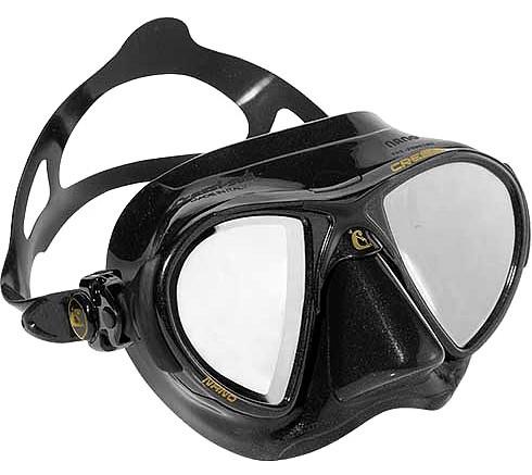 Cressi Nano HD Apnoe Tauchmaske Freitaucher Frei Taucher Maske Spiegelglas