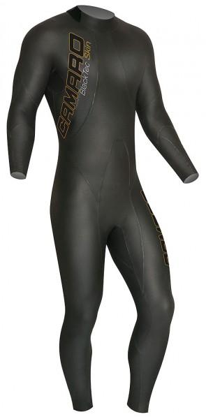 Camaro Black tec skin 2,0 Schwimmanzug 2mm Herren open cell weiches elastisches Neopren Schwimm Anzu