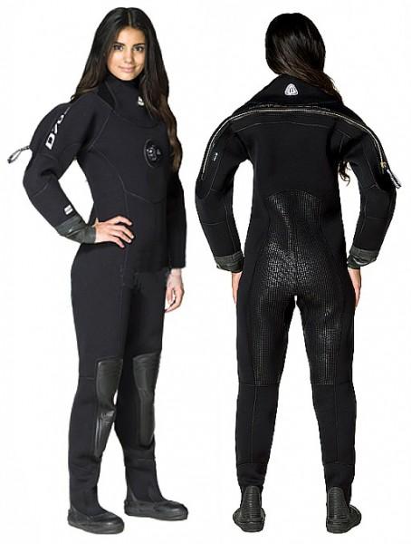 Waterproof D70 SC Damen Frauen Trockentauchanzug Neopren