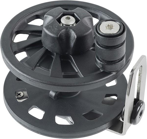 Cressi R30 Reel Harpune Rad Spule Schnur auf Wickler Speergun schwarz mit Kurbel sehr Robust