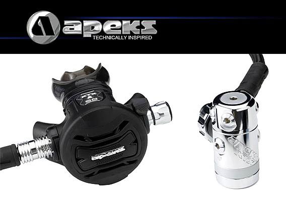 Apeks XTX 50 Atemregler Lungenautomat Kaltwasser Taucher Regler