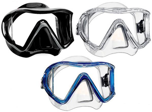 Mares i3 Sunrise Tauchermaske Dreiglas Maske Taucher Brille tauchen Tauchmaske neues Model