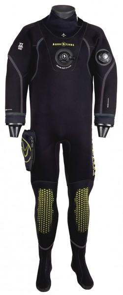 Aqua Lung Blizzard Pro 4mm Komprimierter Neopren Trockentauchanzug Herren Trocken Taucher Anzug