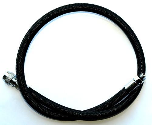 Aqualung MIFLEX Xtreme Inflatorschlauch 80,0cm schwarz Trockentauchanzug Schlauch