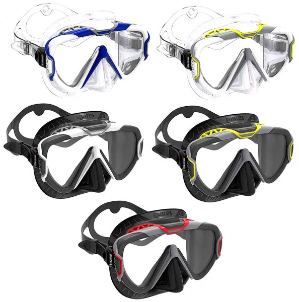 Mares Pure Wire Tauchmaske Taucher Einglas Maske Taucher Brille tauchen schnorcheln