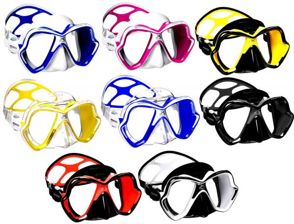 Mares X-Vision Ultra Liquid UL Skin Tauchmaske Tauchermaske Taucher Brille Taucher Maske tauchen