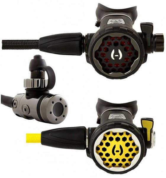 Hollis 200LX + DCX Atemregler Set inkl. Oktopus 150 LX Taucher Regler tauchen DIN Anschluss