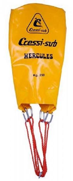 Cressi Herkules 250 Liter Hebe Berge Ballon Ablassventil Hebeballon Bergeballon robuster Taucher