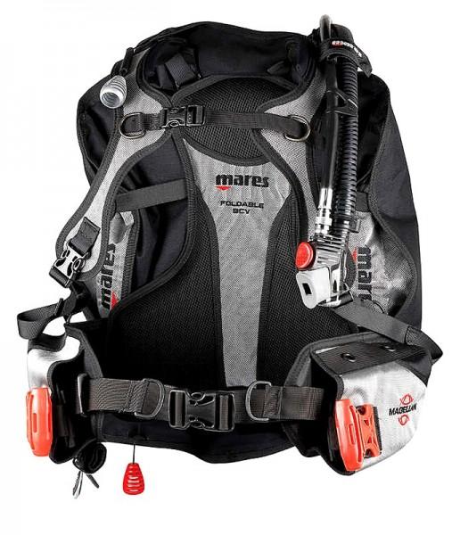 Mares Magellan BCD Tarierjacket Taucher Reise Jacket leicht tauchen Tarierweste