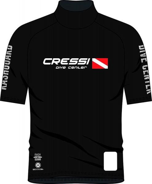 Cressi Rush Guard Herren kurze Ärmel Sonnenschutz UV Schutz Leibchen Taucher T Shirt