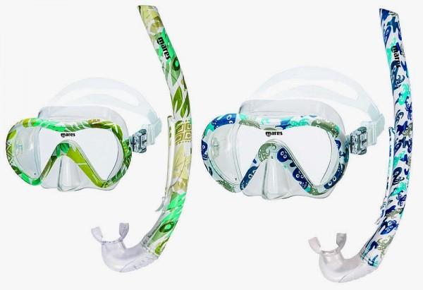 Mares Vento Energy Schnorchel Set Kinder Tauchmasken Taucher Maske Brille